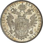 1 Scudo - Ferdinand I – reverse