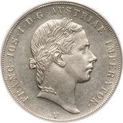1 Scudo - Franz Joseph I – obverse