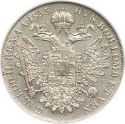 1 Scudo - Franz Joseph I – reverse