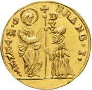 1 Zecchino - Franz I – obverse