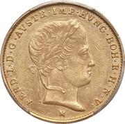 ½ Sovrano - Ferdinand I – obverse