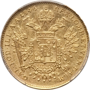 ½ Sovrano - Ferdinand I – reverse