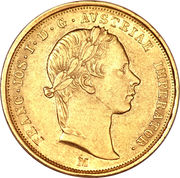 ½ Sovrano - Franz Joseph I – obverse