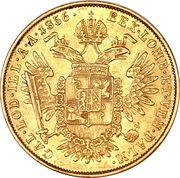 ½ Sovrano - Franz Joseph I – reverse