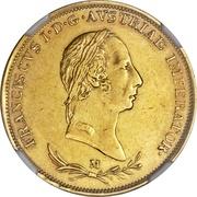 1 Sovrano - Franz I – obverse