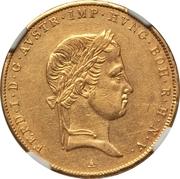1 Sovrano - Ferdinand I – obverse