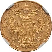 1 Sovrano - Ferdinand I – reverse