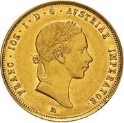 1 Sovrano - Franz Joseph I – obverse