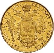 1 Sovrano - Franz Joseph I – reverse