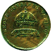 3 Centesimi - Franz Joseph I – obverse