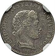 ¼ Lira - Ferdinand I – obverse