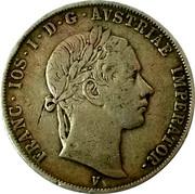 ½ Scudo - Franz Joseph I – obverse
