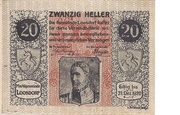 20 Heller (Loosdorf) – obverse