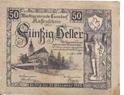 50 Heller (Loosdorf) – obverse