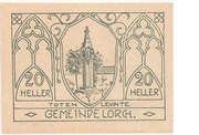 20 Heller (Lorch) -  obverse