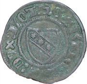 Denier - Charles II (Sierck-les-Bains mint) – obverse