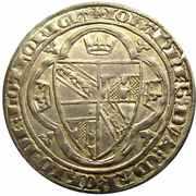 Plaque - Regency of Marie for Jean I 1346-1348 – obverse