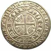 Plaque - Regency of Marie for Jean I 1346-1348 – reverse