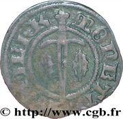 Denier - Charles II (Sierck-les-Bains mint) – reverse