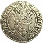 Gros a l'aigle Jean I 1348-1389 – obverse