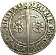 Gros a l'aigle Jean I 1348-1389 – reverse