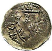 1 Denier - Mathieu II (1246-1251) – reverse