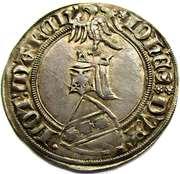 Gros Jean I  1348-1389 – obverse