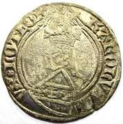 Gros Charles II  1390-1431 – obverse
