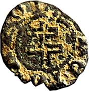 Denier - Antoine (type 2 ; monogram and cross of Lorraine) – reverse