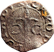 Double Denier - Charles III – obverse