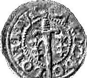 Double Denier - Charles IV – obverse