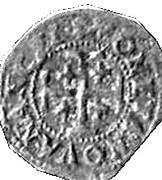 Double Denier - Charles IV – reverse