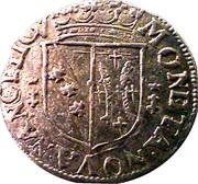 Groschen - Charles IV and Nicole – obverse