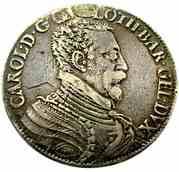 Demi-ecu Aux Aigles Charles III  1545-1608 – obverse