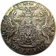 Demi-ecu Aux Aigles Charles III  1545-1608 – reverse