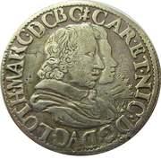Teston - Charles & Nicole 1624-1626 – obverse
