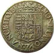 Teston - Charles & Nicole 1624-1626 – reverse