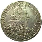 Teston - Francois II  1626-1631 – obverse