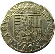Teston - Francois II  1626-1631 – reverse