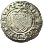 Double Denier - Raoul (1329-1346) – obverse