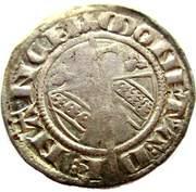 Double Denier - Raoul (1329-1346) – reverse