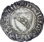 Double Denier - Charles II – obverse