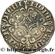 ¼ Groschen - Charles II – reverse