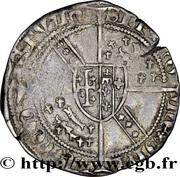 ½ Groschen - Charles II – reverse