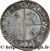Groschen - Charles II (shield and alerions) – reverse