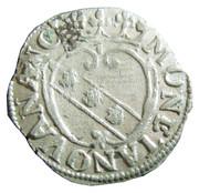 ½ Groschen - Charles IV & Nicole – reverse