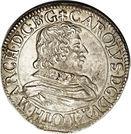 Teston - Charles IV – obverse