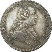 Medal - Karl Alexander von Lothringen (Maritime advancements) – obverse