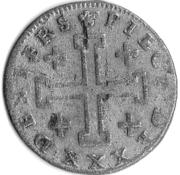 30 Deniers - François III – reverse