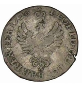 30 Deniers - Leopold I (Cross of Jerusalem) – obverse